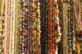 bead with stones and amber poster