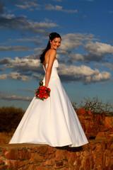 bride sky