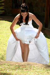 bride steps