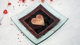 dish /plate/glass/heart/gift poster