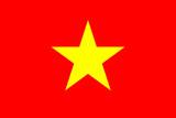 flag of the socialist republic of vietnam poster