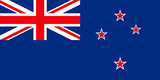flag of new zealand poster