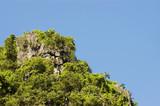 limestone cliff poster