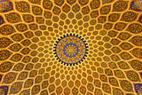 persian ceiling design poster