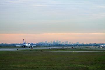 takeoff at jfk