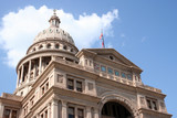 state capitol building in downtown austin, texas poster