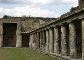 ancient construction. pompeii.