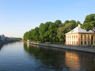 the channel of st.-petersburg