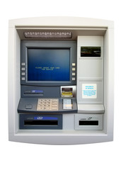 atm machine - isolated