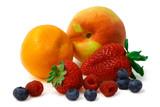 fruits arrangement poster