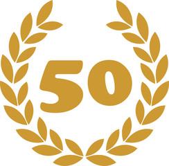 lorbeerkranz 50