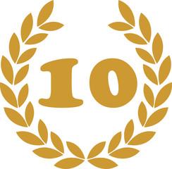 lorbeerkranz 10