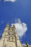 canterbury cathedral and sky (room for text) poster