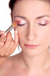 fresh look-step2-eye shadow