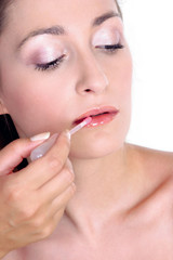 fresh look-step 4-lip gloss