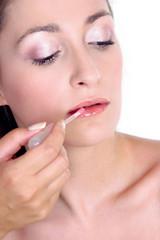 fresh look-step 4-lip gloss