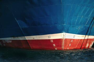prow of ship
