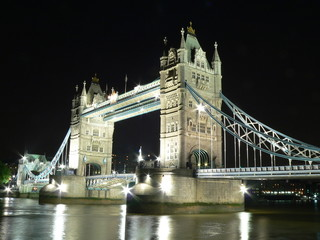 tower bridge from the bank
