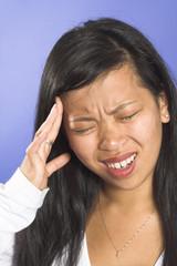 migraine close up