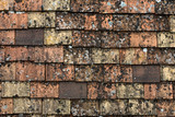 tiled roof poster