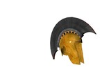 ancient greek helmet 14 poster