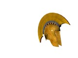 ancient greek helmet 15 poster