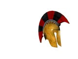 ancient greek helmet 16 poster