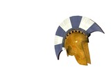 ancient greek helmet 18 poster
