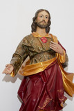 jesus statue poster