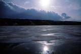 frozen lake poster