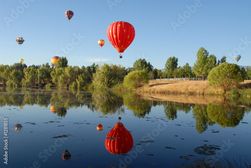 Foto op Canvas Ballon balloons