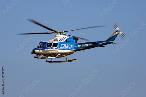 Aluminium Helicopter nypd helicopter