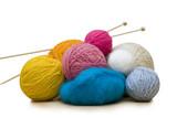 yarn balls poster