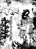 Fototapety graffiti grunge