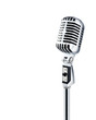 professional ''retro'' microphone - 1293070