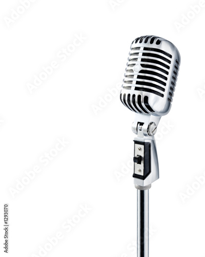 professional ''retro'' microphone