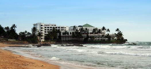 resort and beach