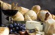 roleta: bread and cheese with a glass of wine 3