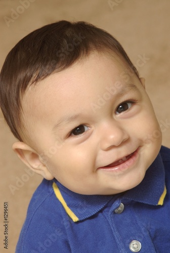happy smiling baby boy - #1