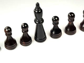 pawns with king