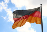 the german flag poster