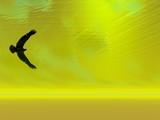 surreal eagle 1 poster