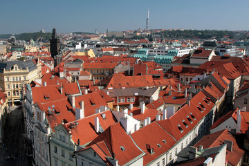 praha - prague, the capital city of the czech repu