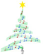 carol music christmas tree - 1299443