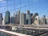 brooklyn bridge new york usa poster