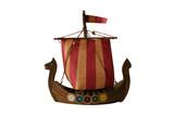 model of viking boat poster