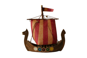 model of viking boat