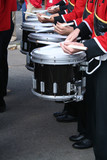 marching band drumline poster