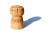 champagne cork poster
