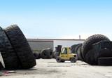 huge tires poster
